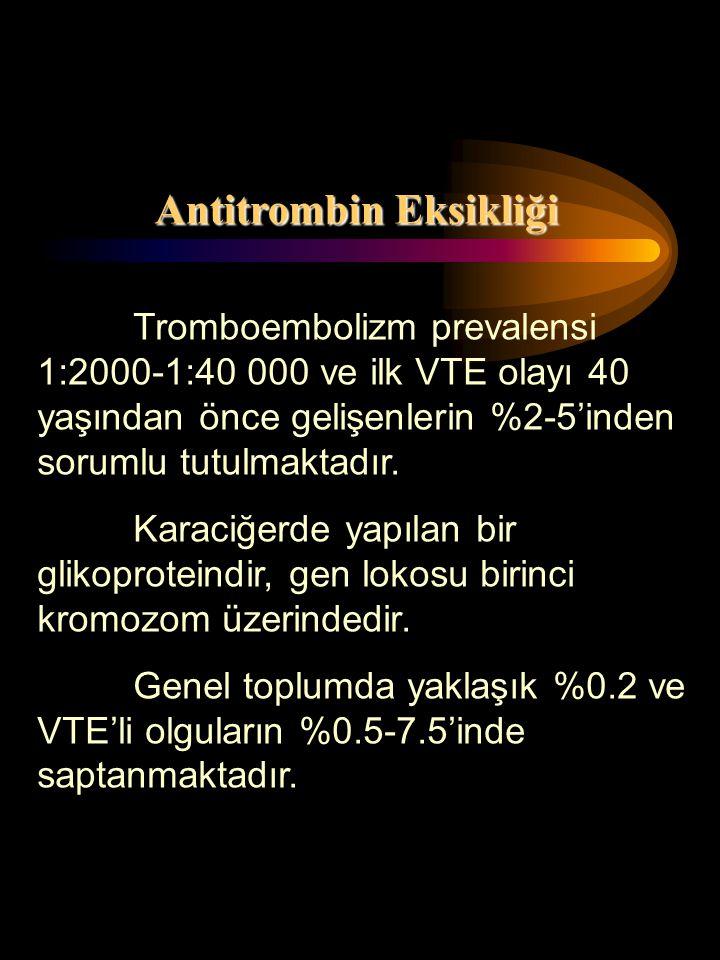 Antitrombin Eksikliği