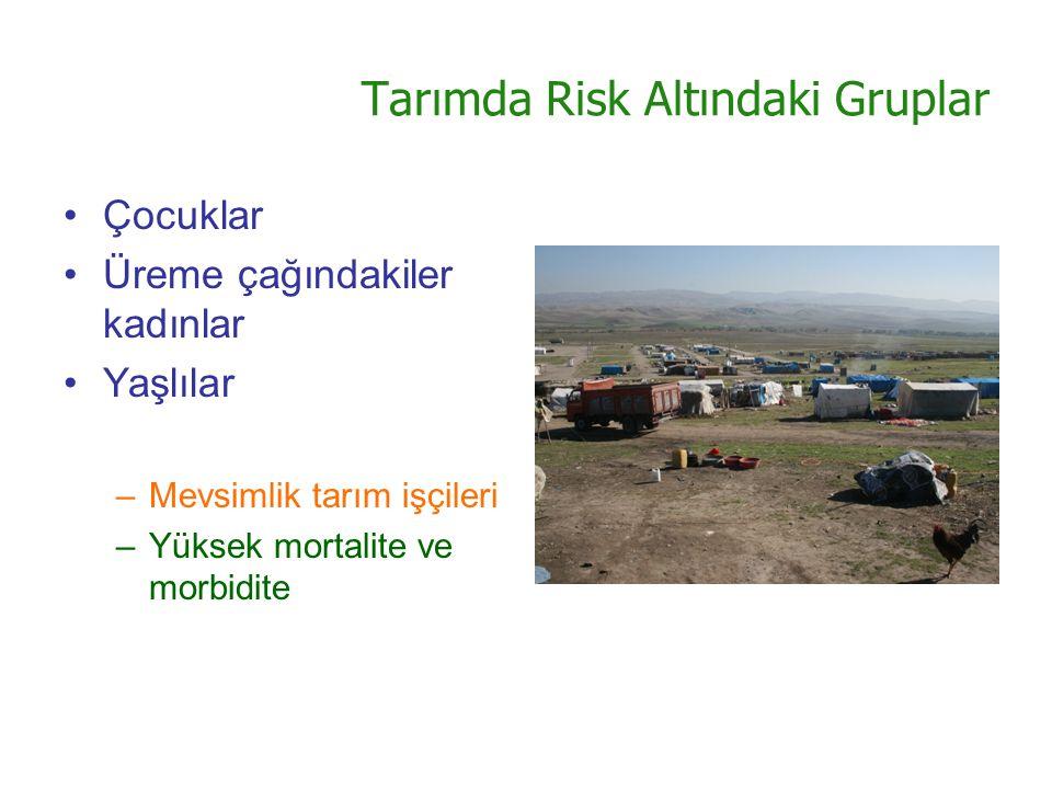 Tarımda Risk Altındaki Gruplar