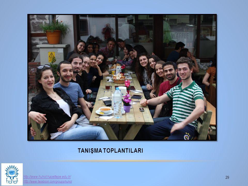 TanIşma ToplantIlarI http://www.huhot.hacettepe.edu.tr/