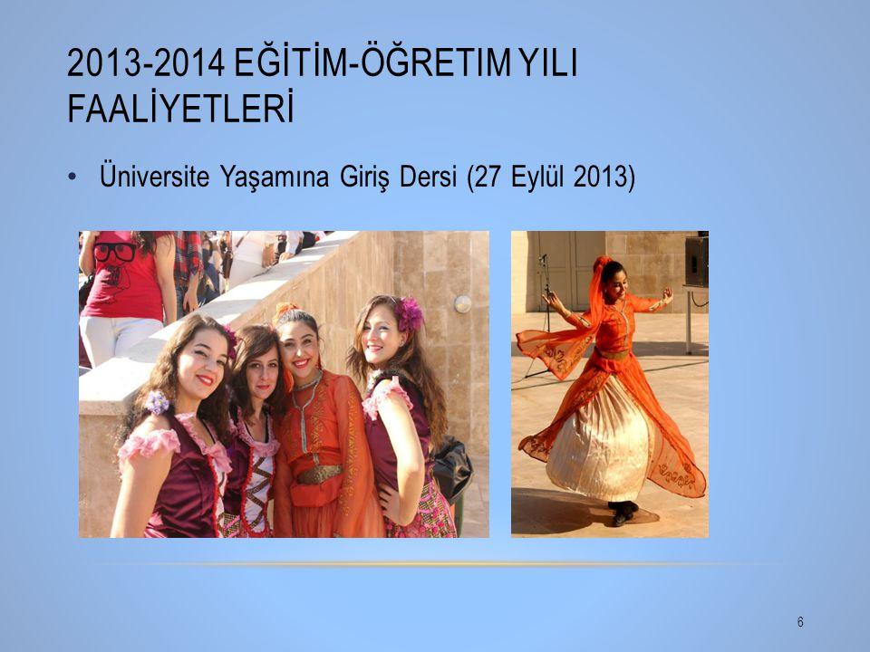 2013-2014 Eğİtİm-Öğretim YIlI Faalİyetlerİ