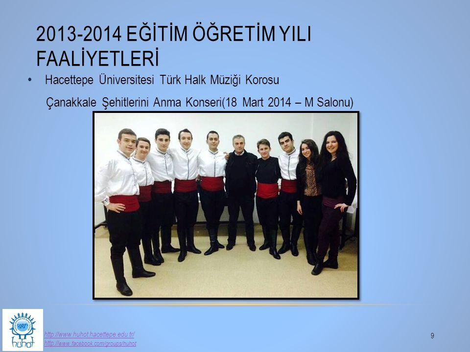 2013-2014 Eğİtİm Öğretİm YIlI Faalİyetlerİ
