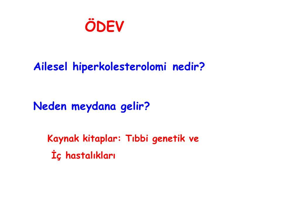 ÖDEV Ailesel hiperkolesterolomi nedir Neden meydana gelir