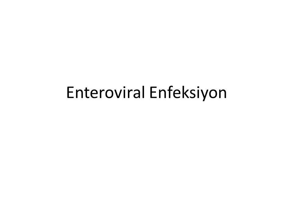 Enteroviral Enfeksiyon