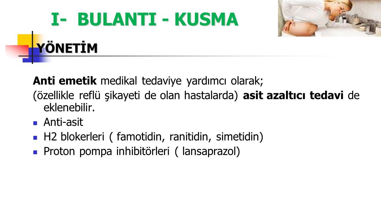 I- BULANTI - KUSMA YÖNETİM