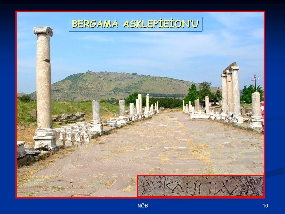 BERGAMA ASKLEPİEİON'U