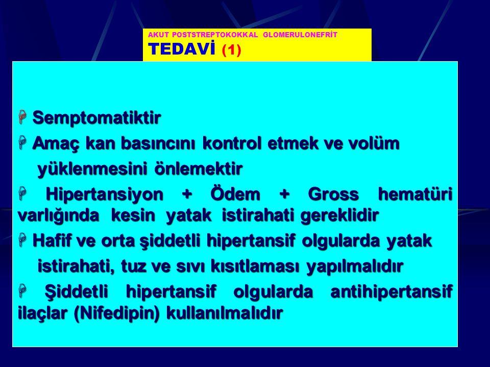 AKUT POSTSTREPTOKOKKAL GLOMERULONEFRİT TEDAVİ (1)