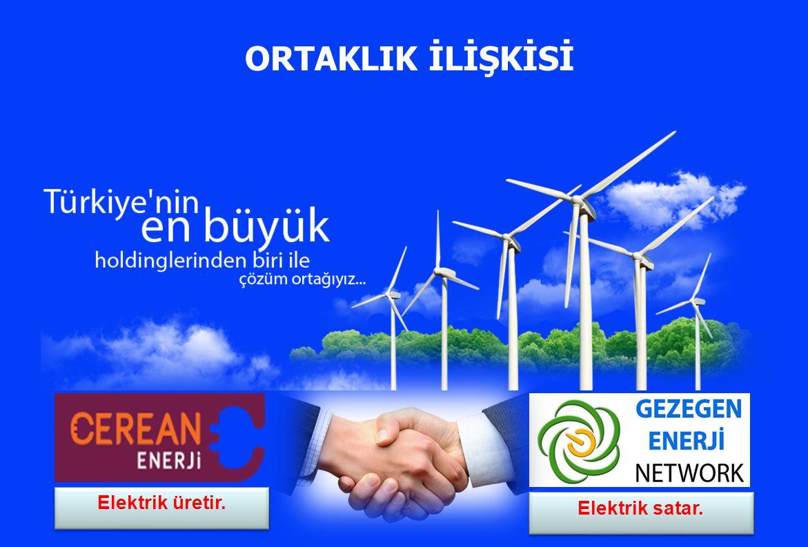 ORTAKLIK İLİŞKİSİ Elektrik üretir. Elektrik satar.