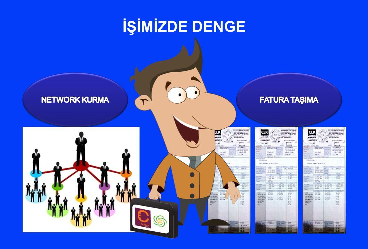 İŞİMİZDE DENGE NETWORK KURMA FATURA TAŞIMA