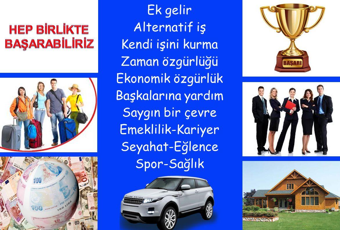 HEP BİRLİKTE BAŞARABİLİRİZ