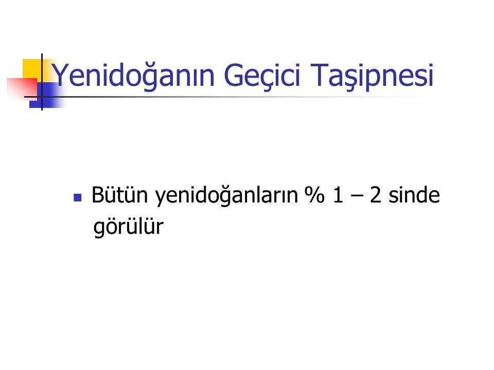 Yenidoğanın Geçici Taşipnesi