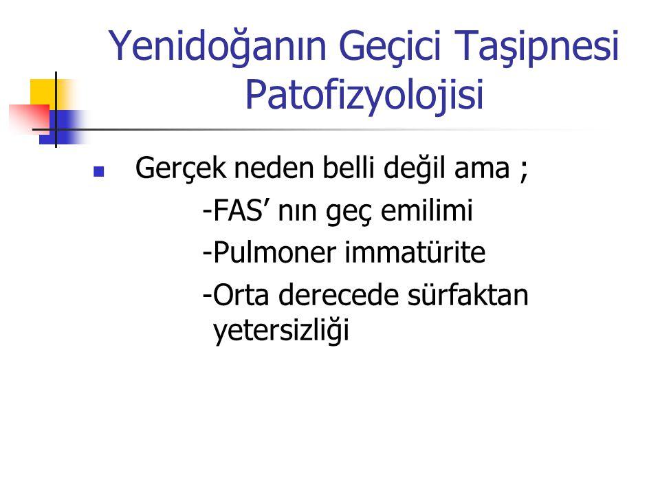 Yenidoğanın Geçici Taşipnesi Patofizyolojisi