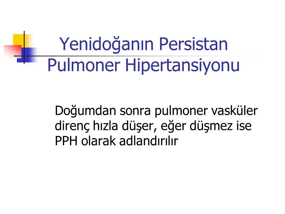 Yenidoğanın Persistan Pulmoner Hipertansiyonu