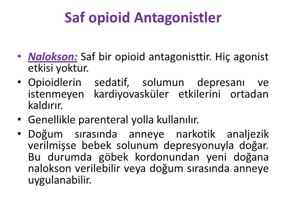 Saf opioid Antagonistler