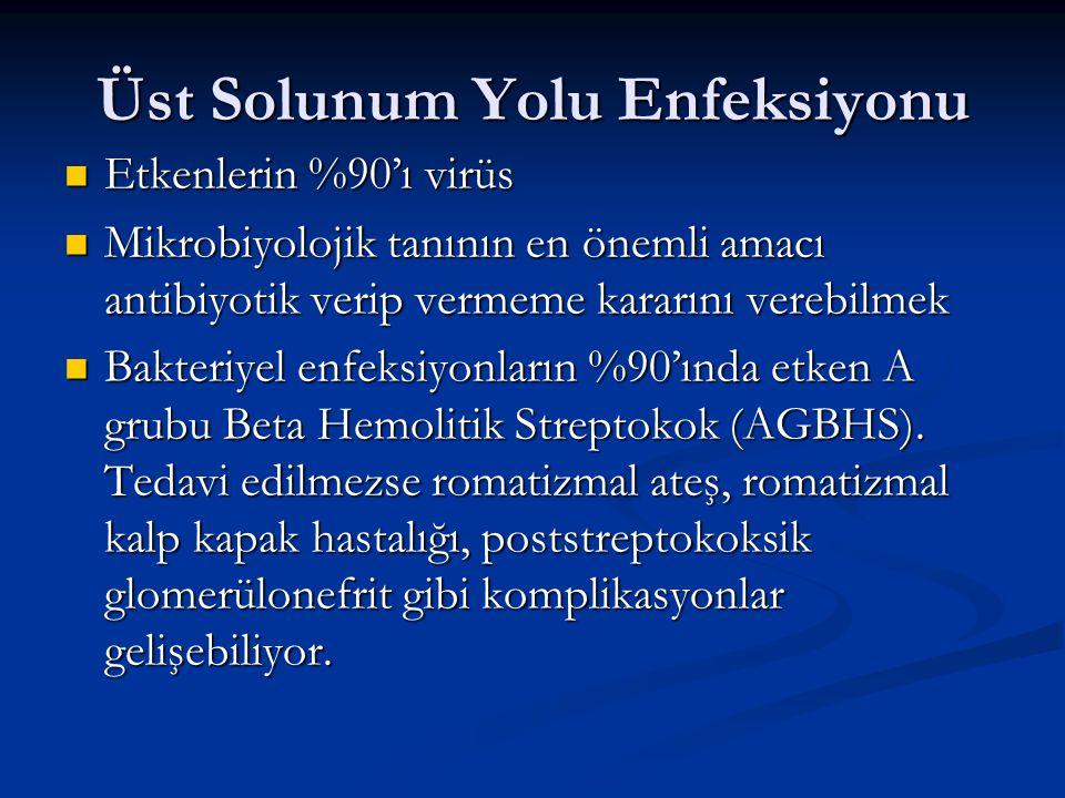 Üst Solunum Yolu Enfeksiyonu