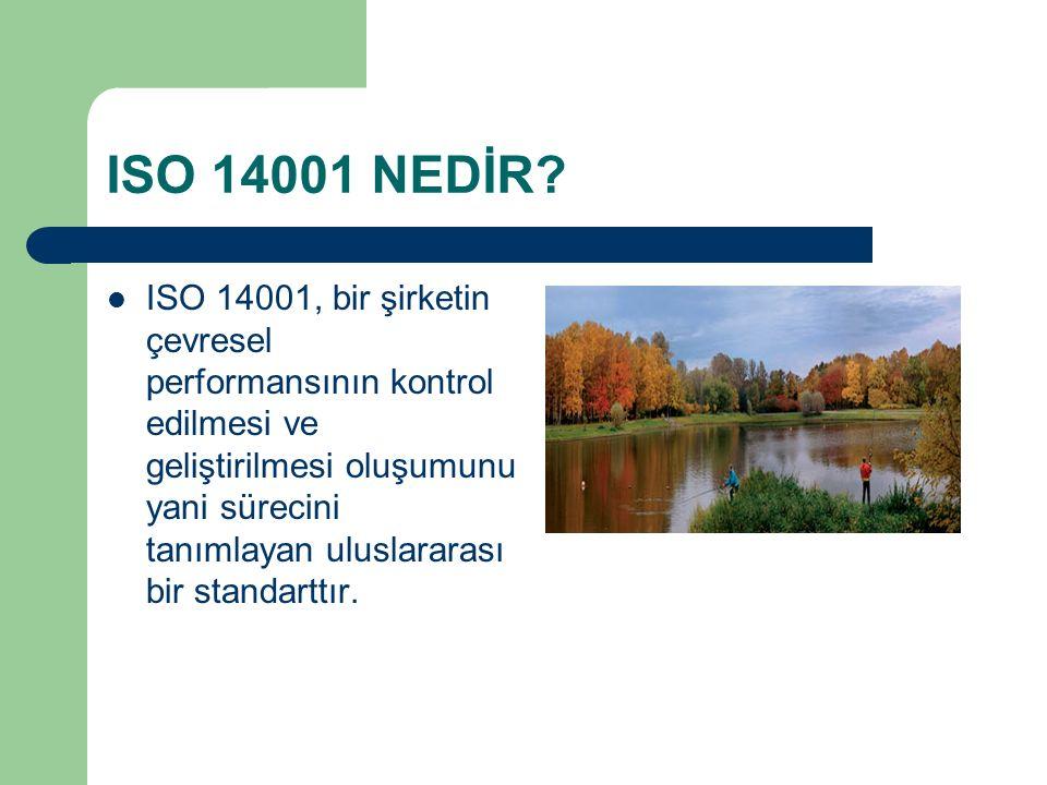 ISO 14001 NEDİR