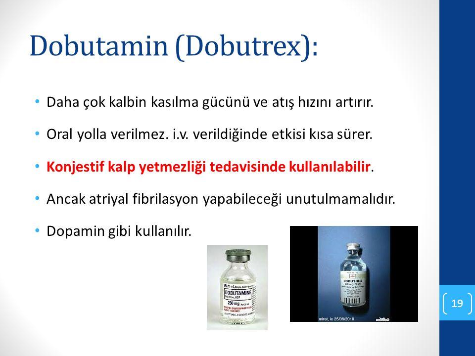Dobutamin (Dobutrex):