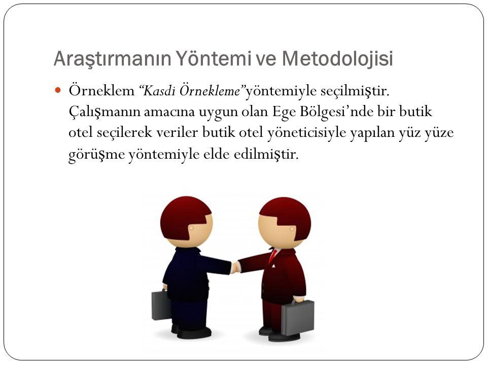 Araştırmanın Yöntemi ve Metodolojisi