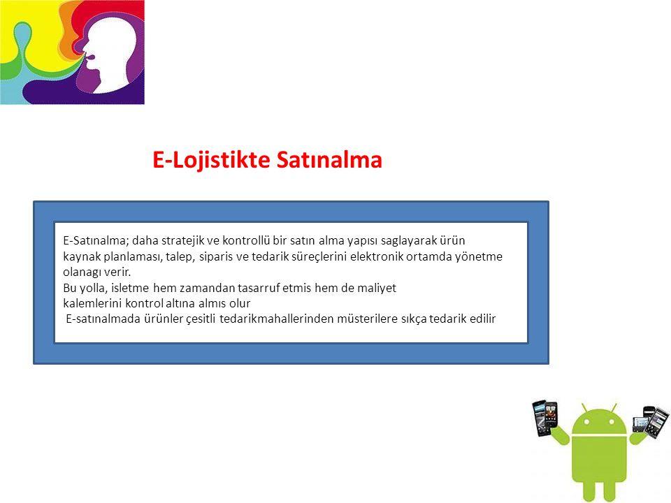 E-Lojistikte Satınalma