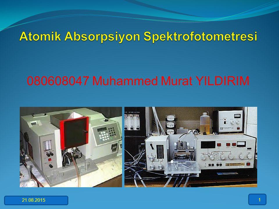 Atomik Absorpsiyon Spektrofotometresi