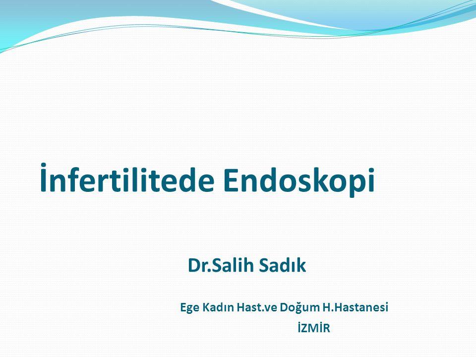 İnfertilitede Endoskopi Dr. Salih Sadık Ege Kadın Hast. ve Doğum H