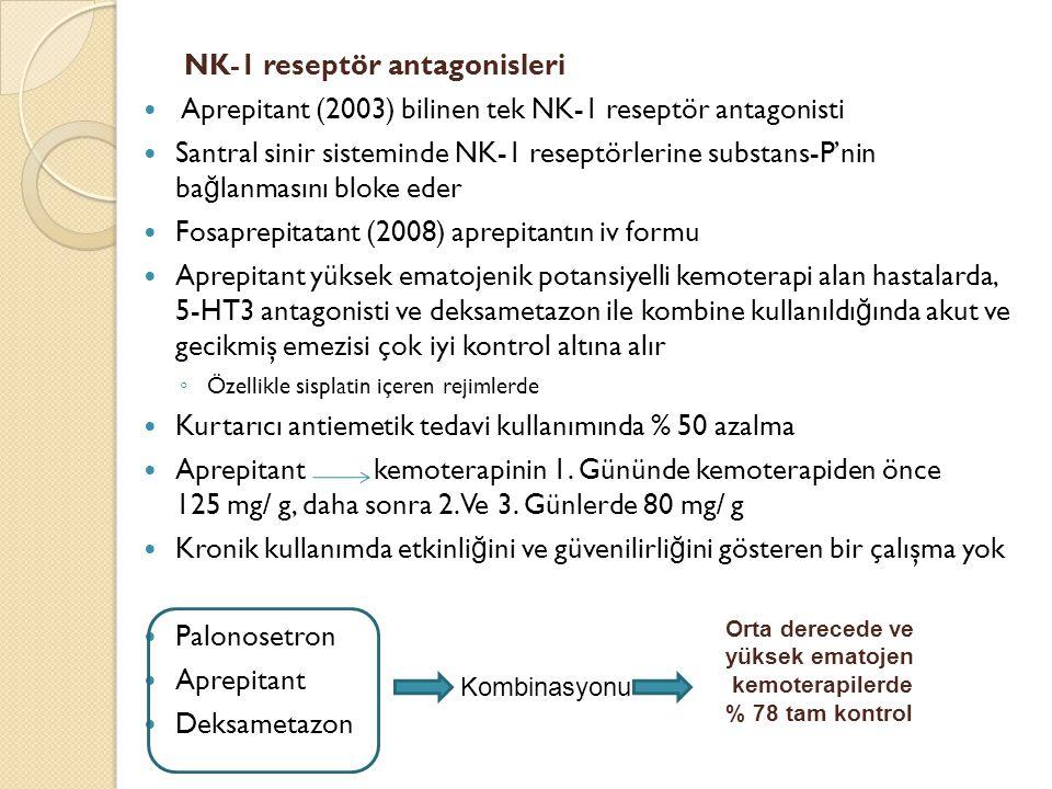 NK-1 reseptör antagonisleri