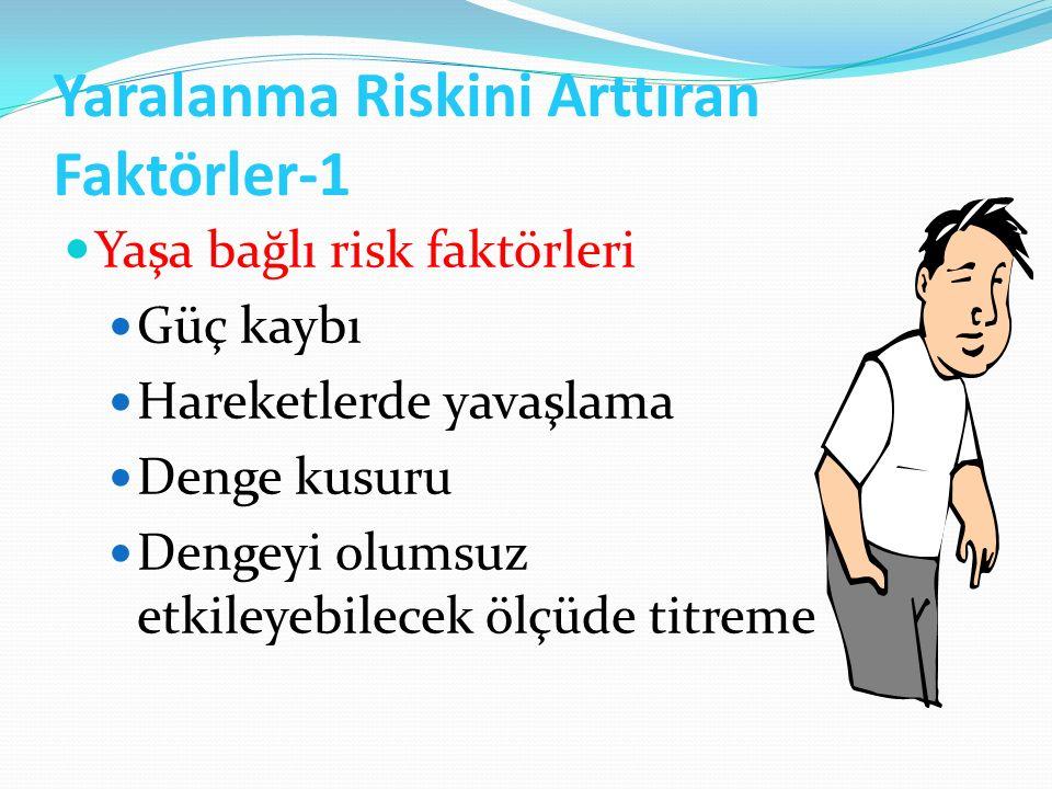 Yaralanma Riskini Arttıran Faktörler-1