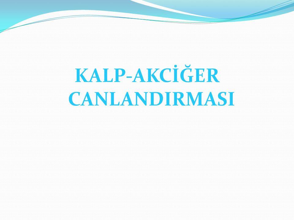 KALP-AKCİĞER CANLANDIRMASI