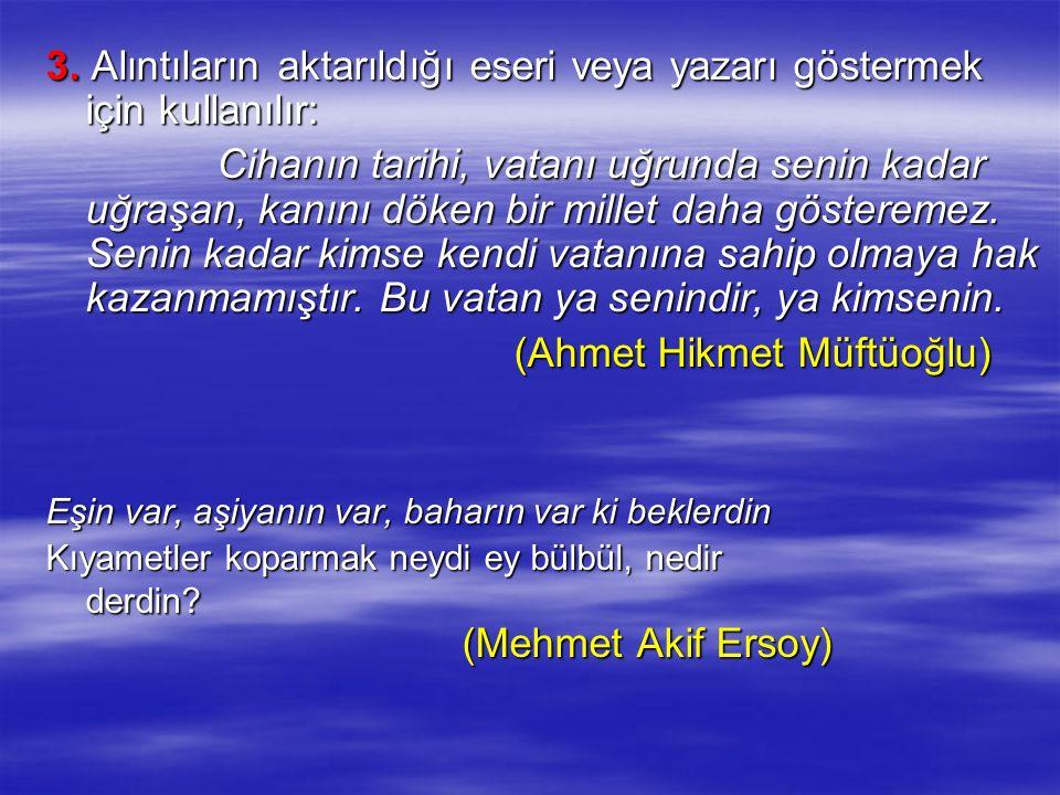 (Ahmet Hikmet Müftüoğlu)