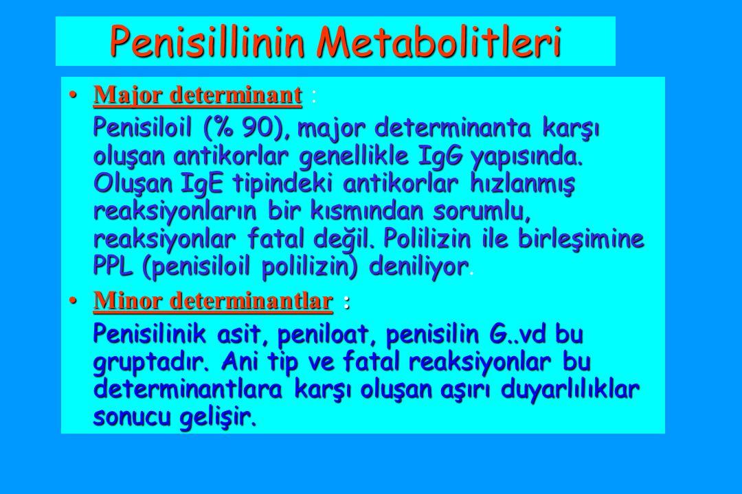 Penisillinin Metabolitleri