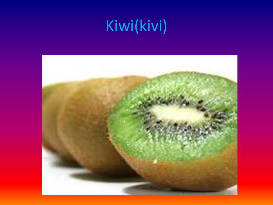 Kiwi(kivi)
