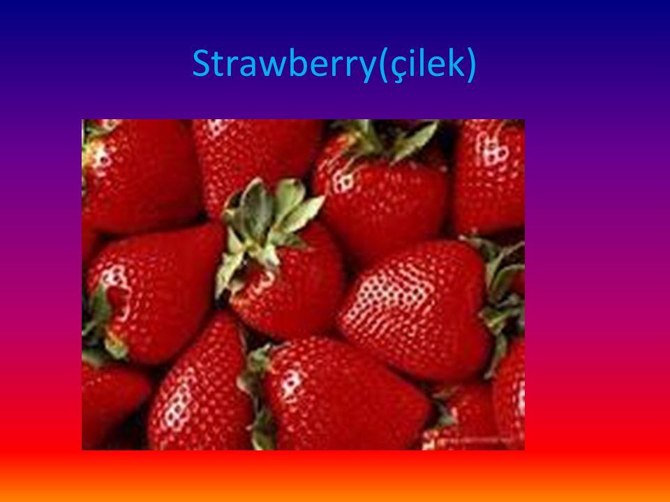 Strawberry(çilek)
