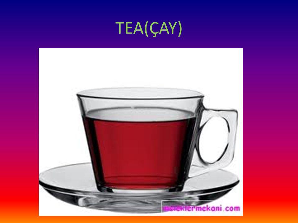 TEA(ÇAY)