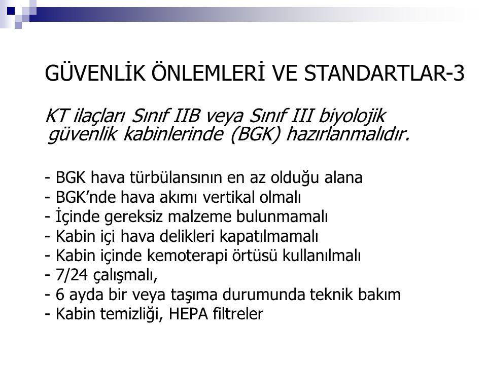 GÜVENLİK ÖNLEMLERİ VE STANDARTLAR-3