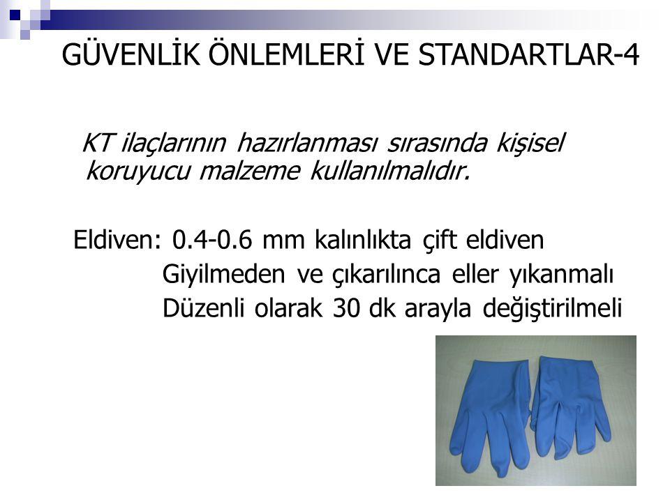 GÜVENLİK ÖNLEMLERİ VE STANDARTLAR-4