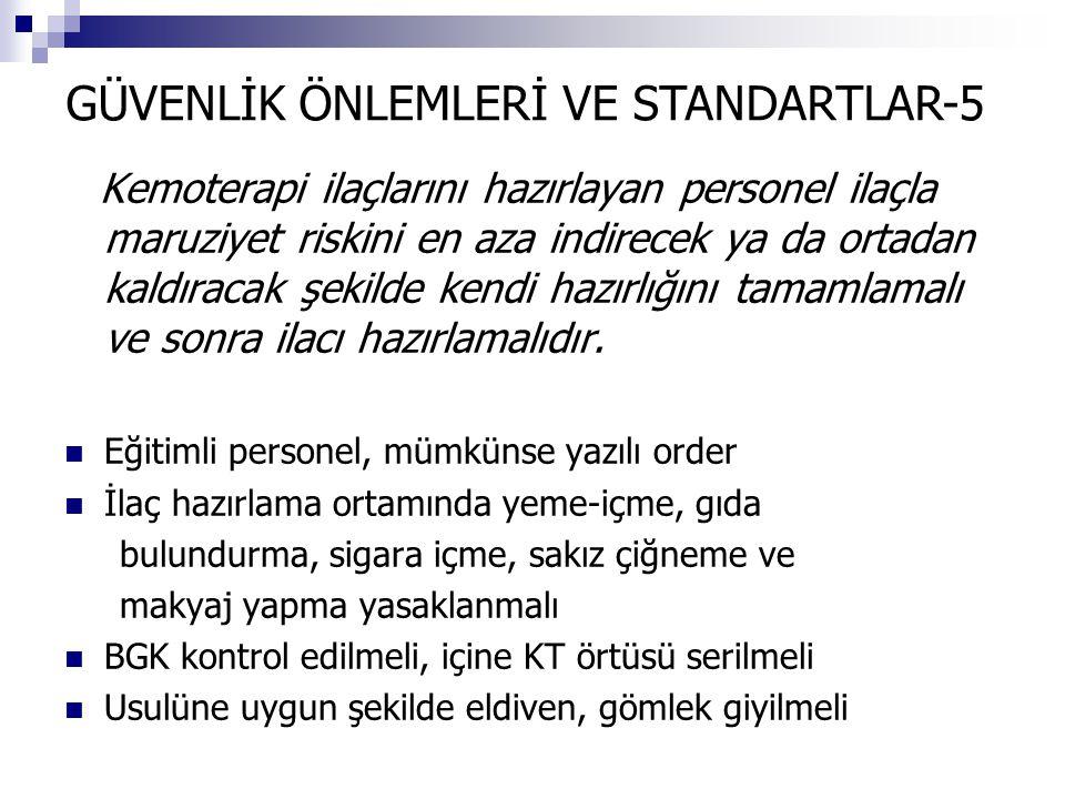 GÜVENLİK ÖNLEMLERİ VE STANDARTLAR-5