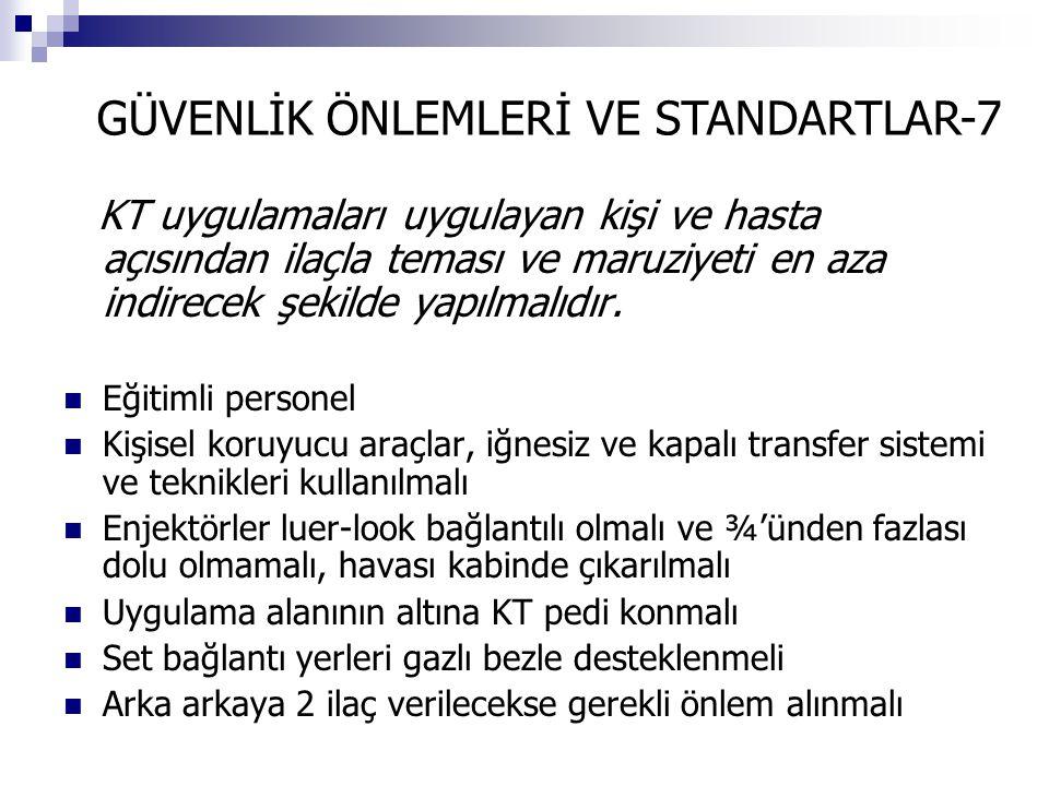 GÜVENLİK ÖNLEMLERİ VE STANDARTLAR-7