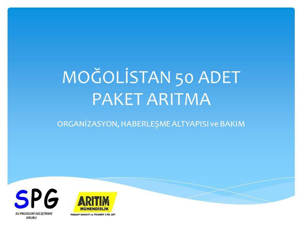 MOĞOLİSTAN 50 ADET PAKET ARITMA