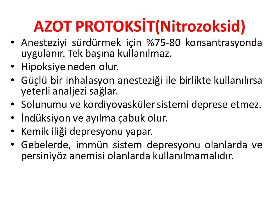 AZOT PROTOKSİT(Nitrozoksid)