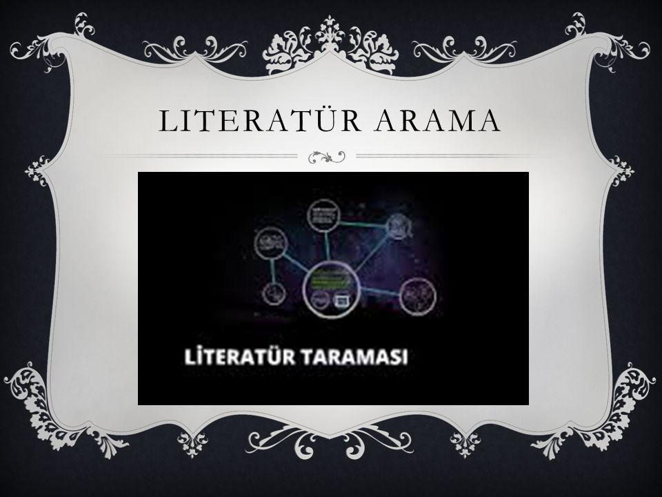 Literatür arama