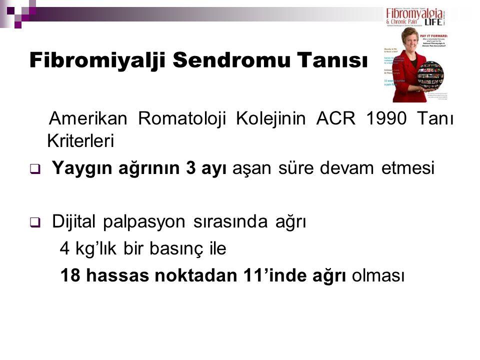 Fibromiyalji Sendromu Tanısı