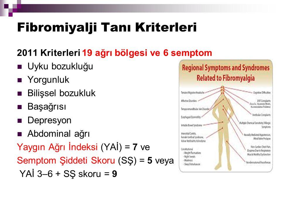 Fibromiyalji Tanı Kriterleri