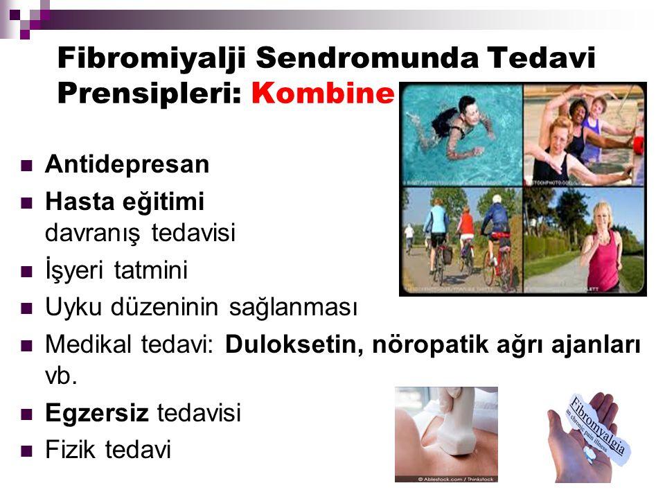 Fibromiyalji Sendromunda Tedavi Prensipleri: Kombine