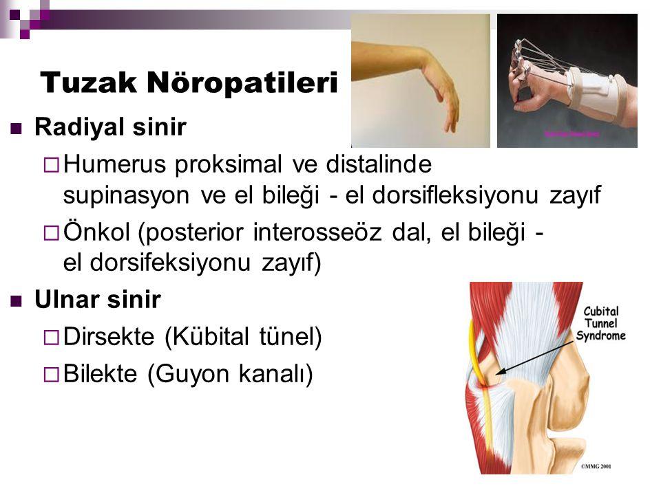 Tuzak Nöropatileri Radiyal sinir