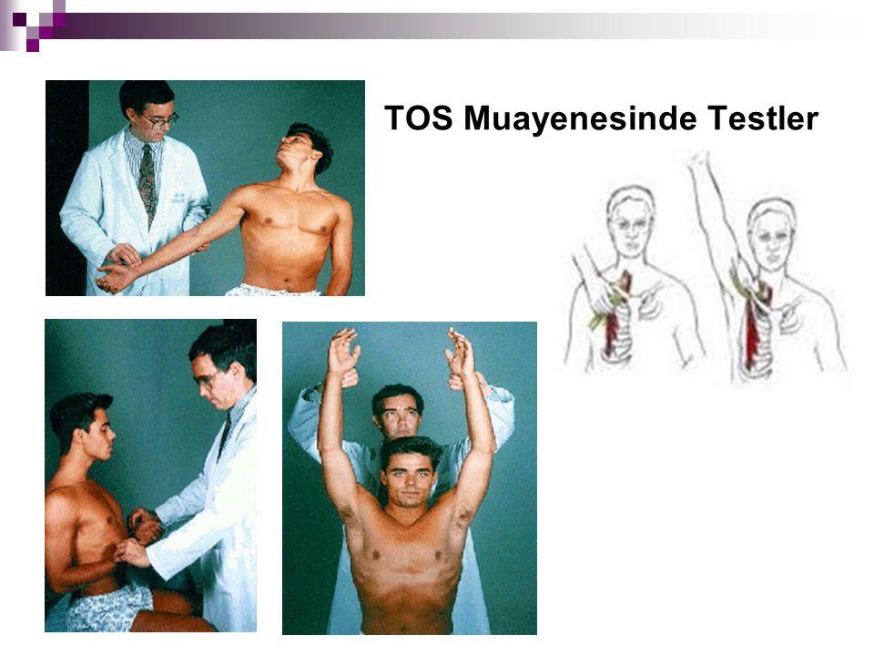 TOS Muayenesinde Testler