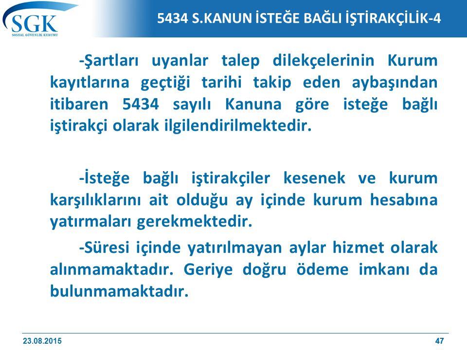 5434 S.KANUN İSTEĞE BAĞLI İŞTİRAKÇİLİK-4
