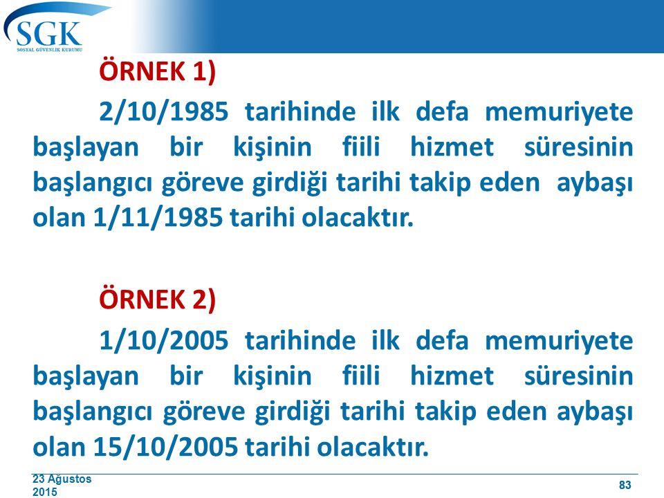 ÖRNEK 1)