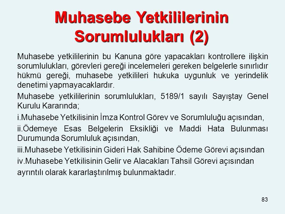 Muhasebe Yetkililerinin Sorumlulukları (2)