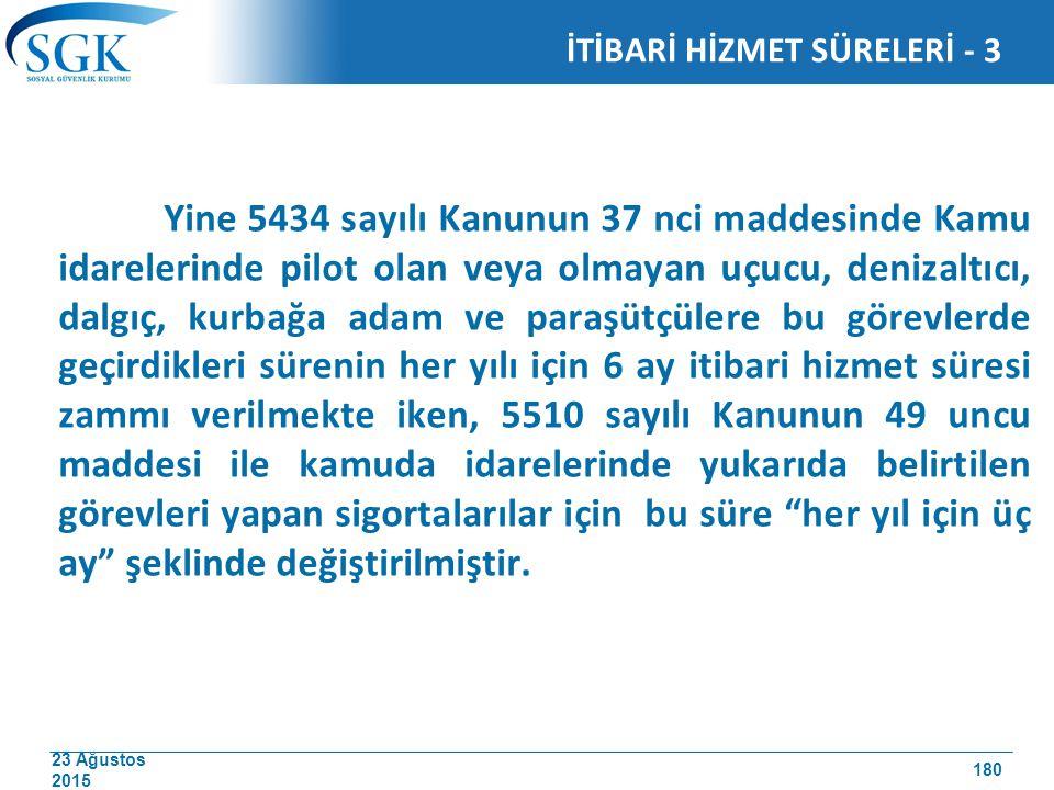 İTİBARİ HİZMET SÜRELERİ - 3