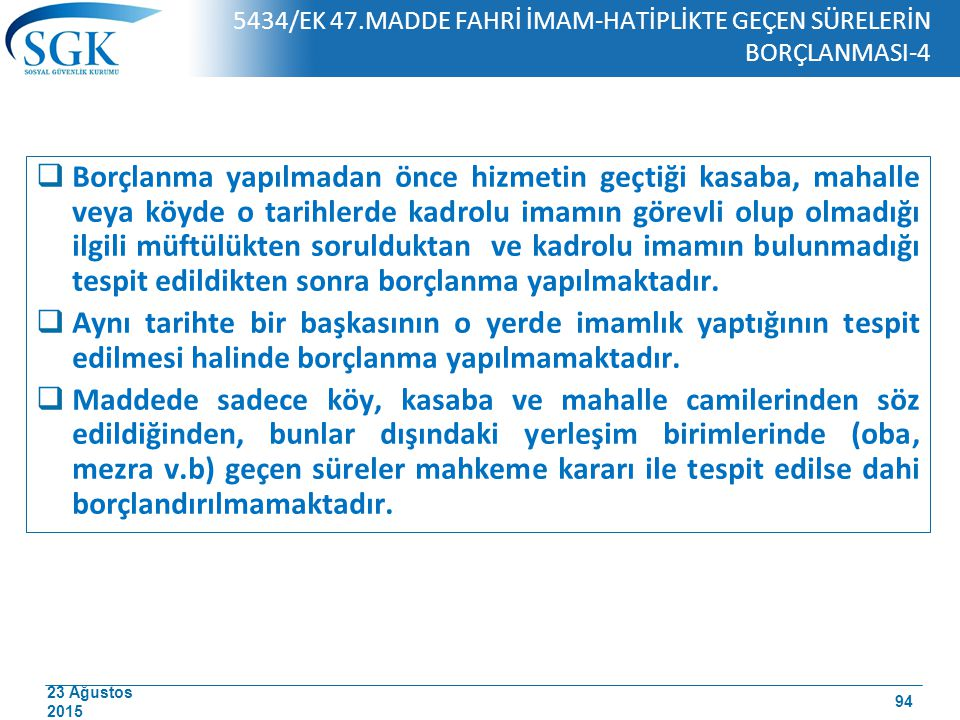 5434/EK 47.MADDE FAHRİ İMAM-HATİPLİKTE GEÇEN SÜRELERİN BORÇLANMASI-4