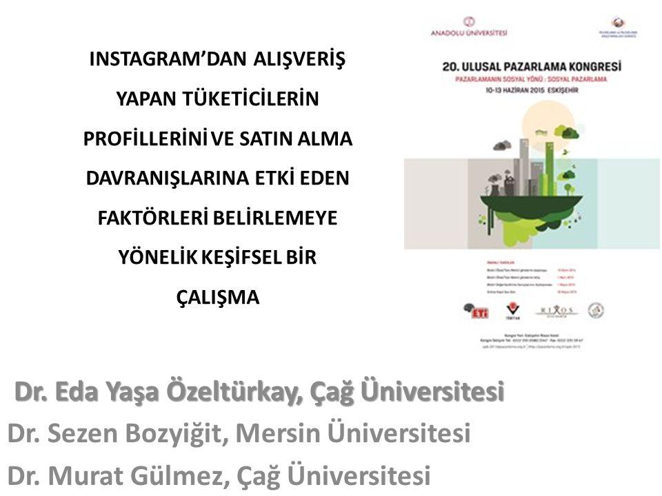 Dr. Eda Yaşa Özeltürkay, Çağ Üniversitesi